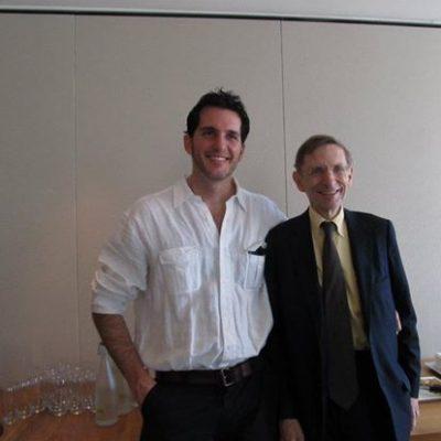 Con Bill Drayton (Presidente y Fundador de ASHOKA) en Londres.