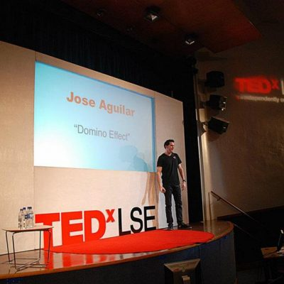 TEDX London School of Economics.